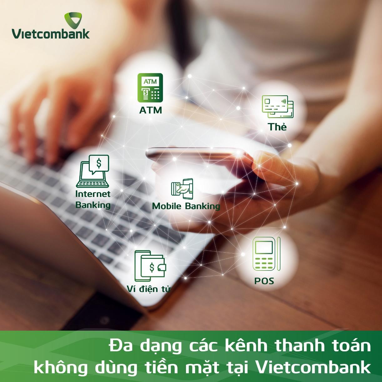 """Vietcombank hưởng ứng mạnh mẽ """"Ngày không dùng tiền mặt 16/06"""" - Ảnh 1"""