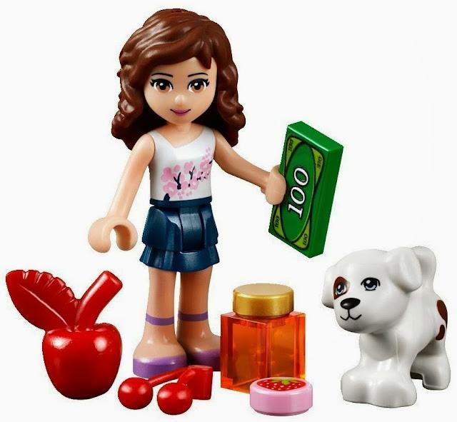 Lego 41026 Ngày mùa thu hoạch Sunshine Harvest trang bị cả tiền để bé chơi trò nhập vai mua bán trái cây