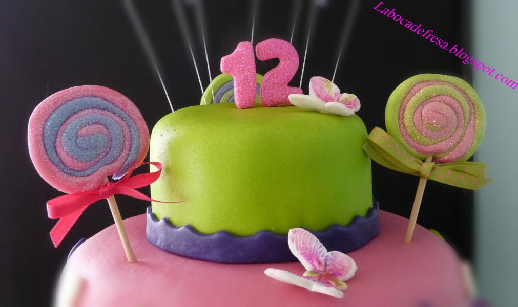 Pastel de cumplea os para ni a de 12 a os my blog - Ideas cumpleanos nina 7 anos ...