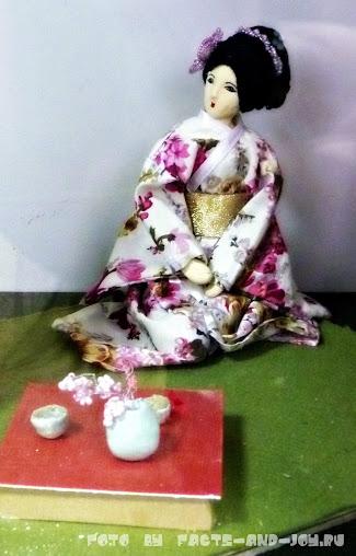 гейша, выставка авторских кукол ателье чудес