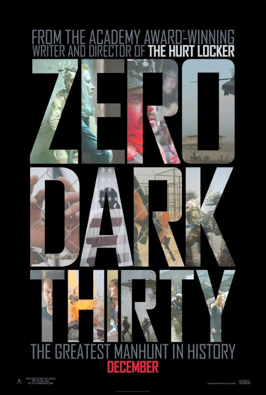 Poster Of Zero Dark Thirty (2012) Full Movie Hindi Dubbed Free Download Watch Online At Alldownloads4u.Com