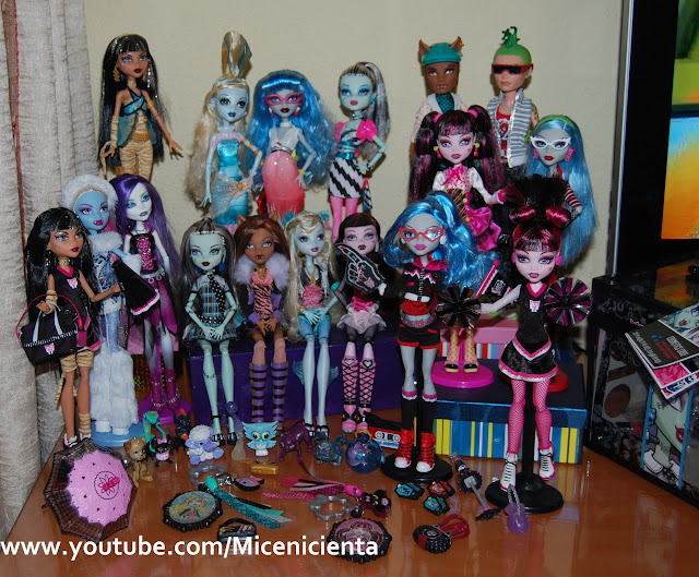 L@s Monster High de Marina PGallardo