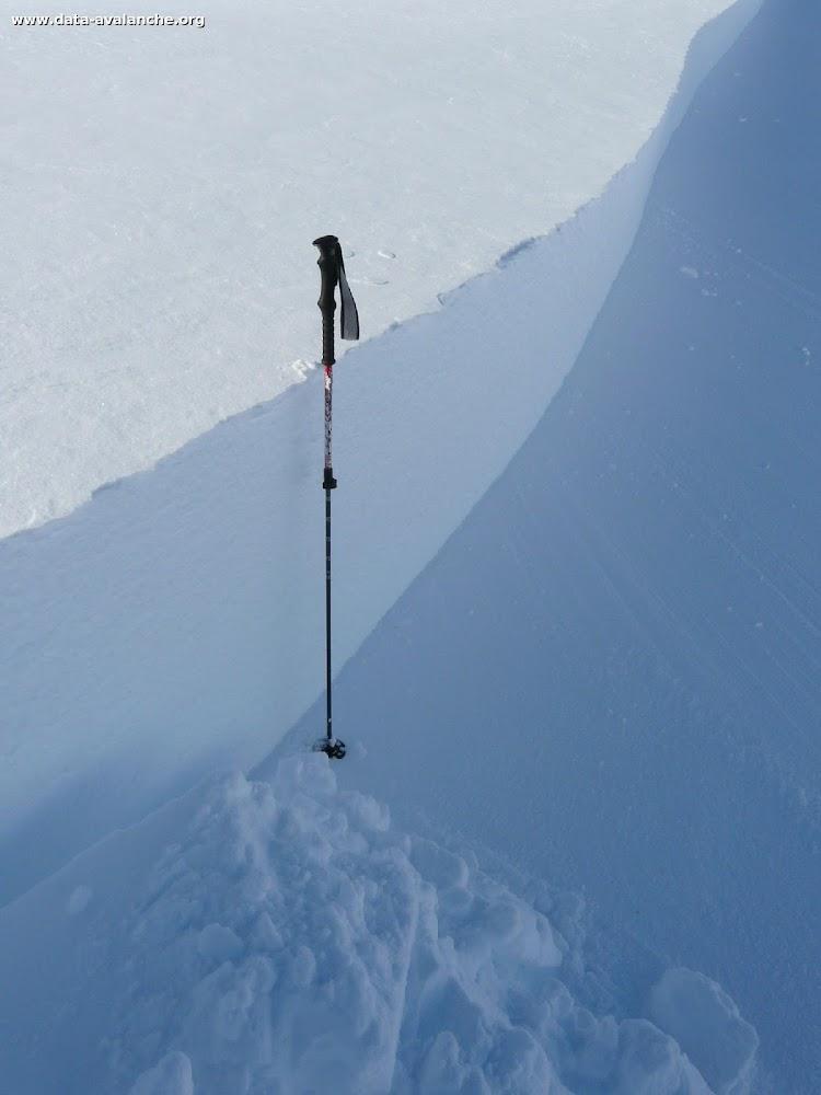 """Avalanche Cerces, secteur Le Grand Aréa, arête entre le pic du Longet et la Gardiole """"cote 2518"""" - Photo 1"""