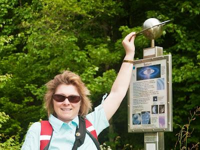 Karin mit dem Saturn-Ring