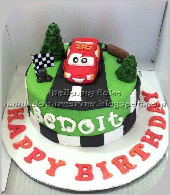 Kue Ulang Tahun Anak Cars
