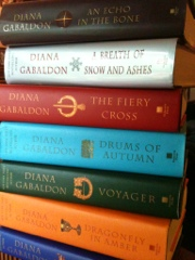 Outlander books by Diana Gabaldon