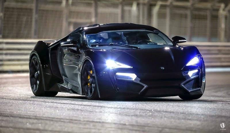 W Motors Lykan HyperSport - the star of Fast & Furious 7! [w/VIDEO ...