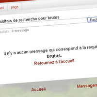 Customiser le message d'état