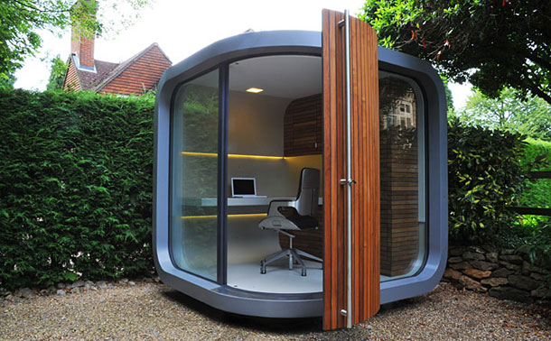 Backyard Office for People Working from Home