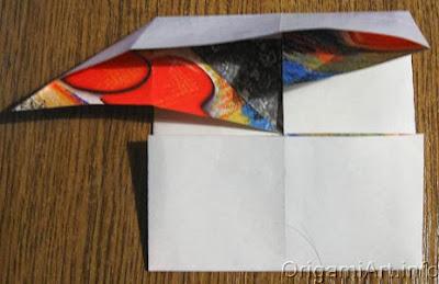 бумажная фоторамка