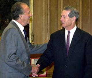 Regele Mihai I al României cu Regele Juan Carlos I al Spaniei
