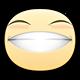 Giggle Facebook sticker