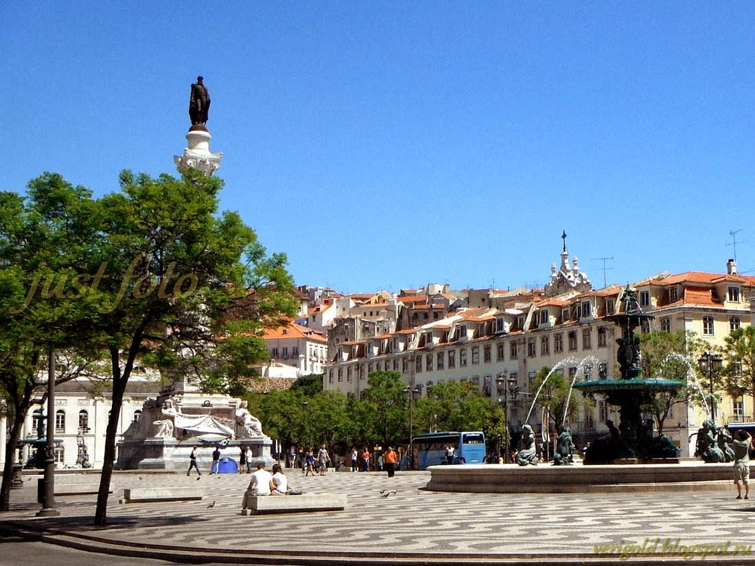 Лиссабон площадь Росиу