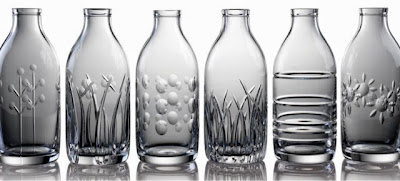 Love this #35: Cut crystal milk bottle vase