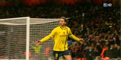 UEFA-8 : Arsenal 2 vs 2 Barcelona 31-03-2010