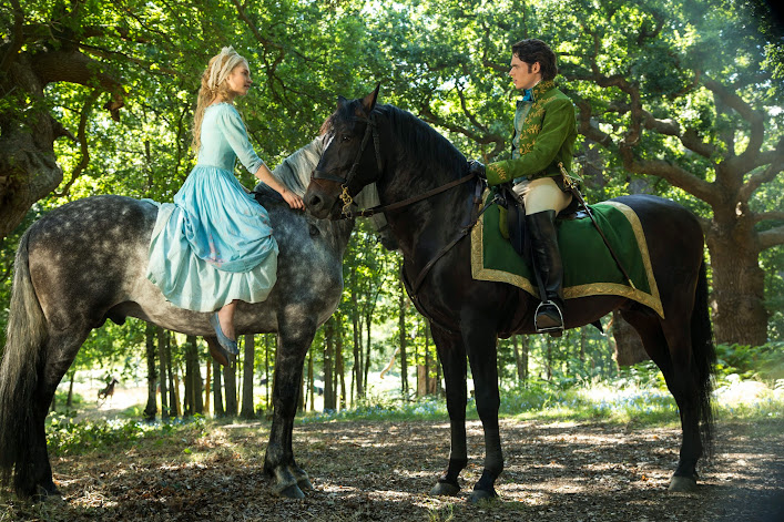 Have courage and be kind: Ella meets Kit (Prince Charming) #Cinderella