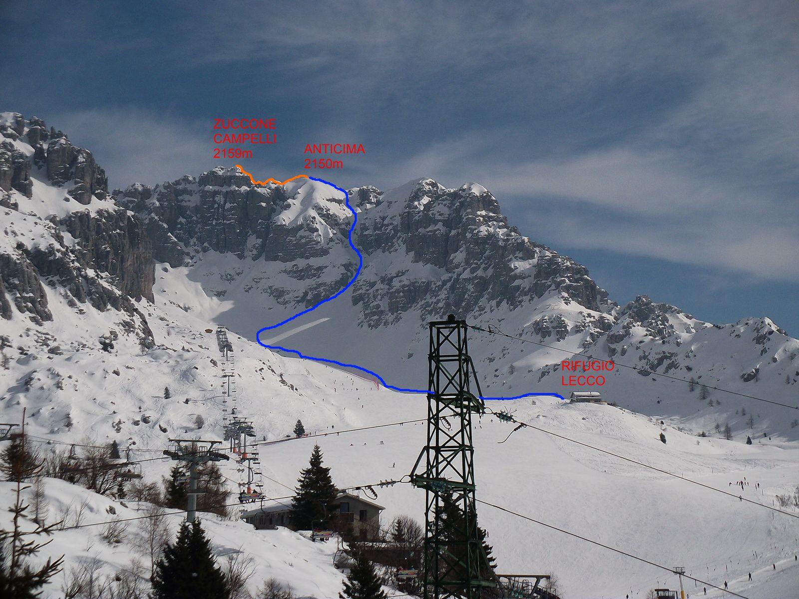 Ade e titi zuccone campelli 26 02 2011 for Piani di casa da sci