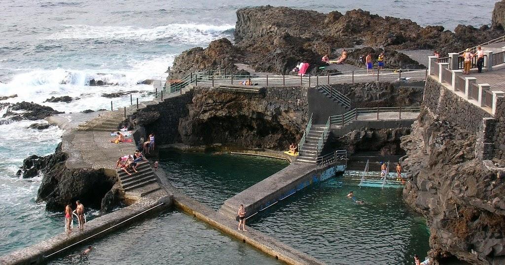 Isla la palma piscinas naturales la fajana naturaleza y for Piscinas naturales islandia