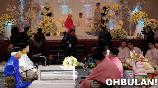 Ibu Lisa Surihani - majlis perkahwinan Lisa dan Yusri