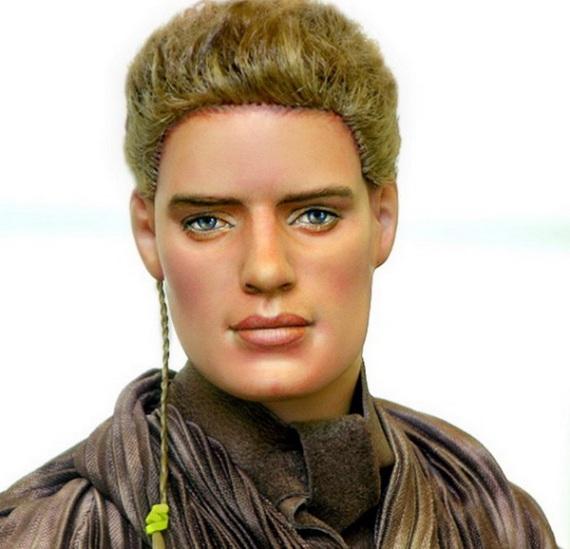 звездные войны - кукла энакин скайуокер – ноэль круз