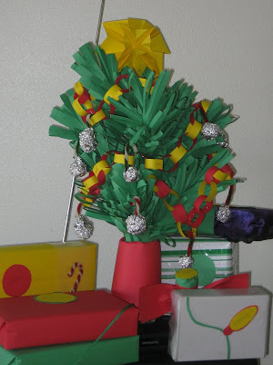 2011 Handcrafted Paper Christmas Tree
