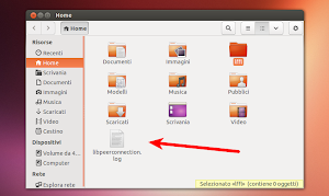 file libpeerconnection.log dalla home di Ubuntu Linux