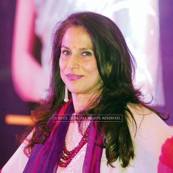 Shobhaa De during a talk show organised by Ficci Flo, in Jaipur.