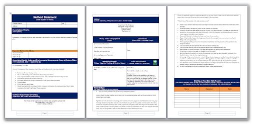 Doc447300 Work Method Statement Example Doc996488 Safe Work – Safe Work Method Statements Templates