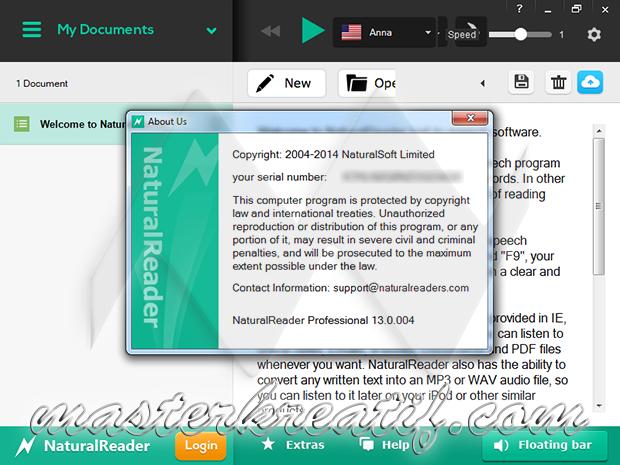 Natural Reader Professional 13 Full Version | MAZTERIZE