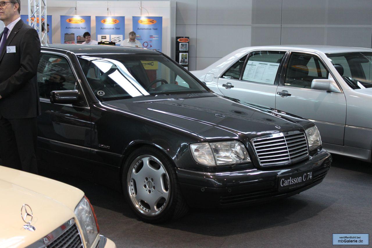 Mercedes Benz S74 W140 Carlsson Benztuning