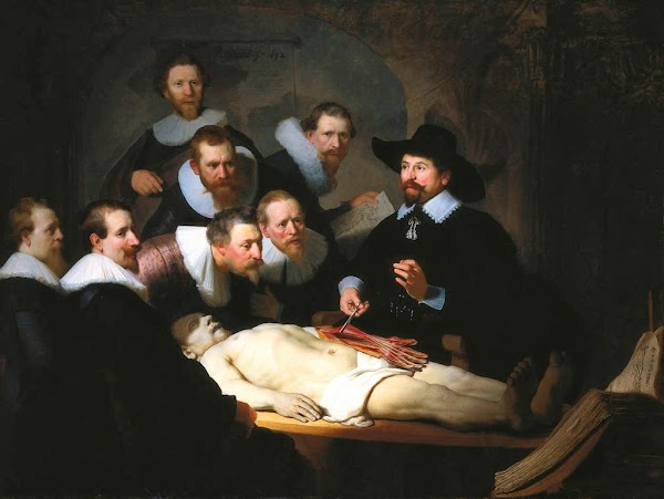 Rembrandt - The Anatomy Lesson of Dr. Nicolaes Tulp (1632)