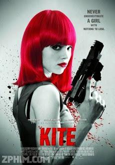 Nữ Sát Thủ Tuổi Teen - Kite (2014) Poster