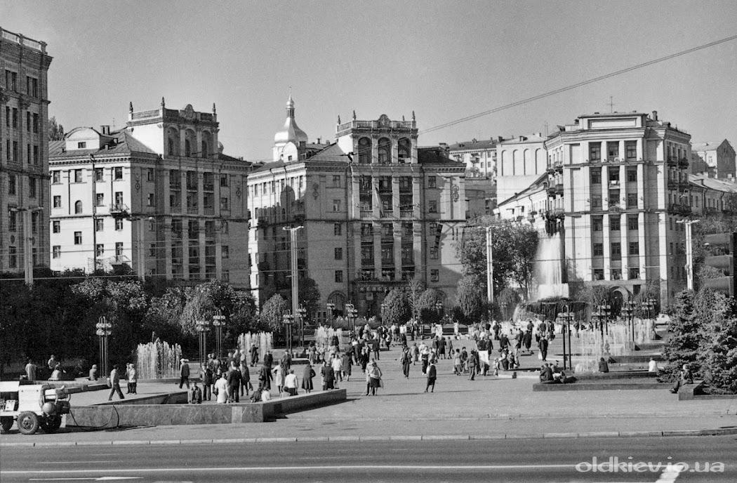 Майдан Незалежности 1988 год