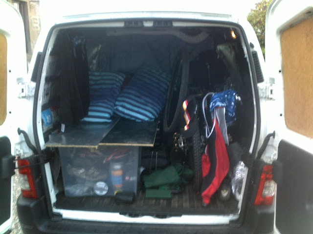 187 Topic Pic Of A Berlingo Type Van With A Bike Inside