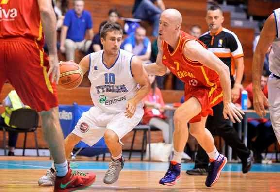 Torneo di Sarajevo. Italia-Montenegro 60-76