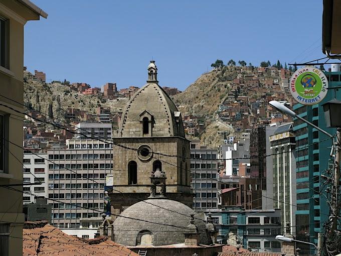 La iglesia de San Francisco, La Paz