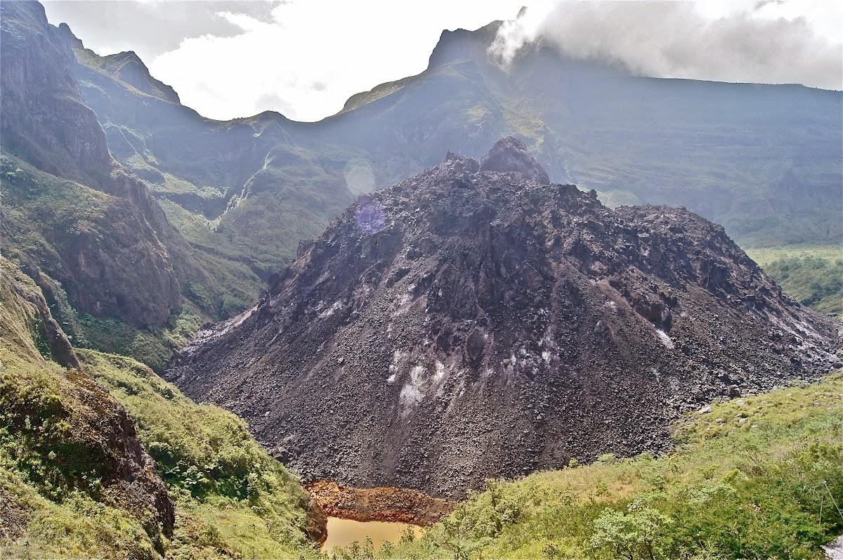 Gunung Kelud Meletus Kabupaten Kediri Indonesia Gambar Kelut