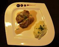 Joues de porc au cidre et crème d'ail - recette indexée dans les Viandes