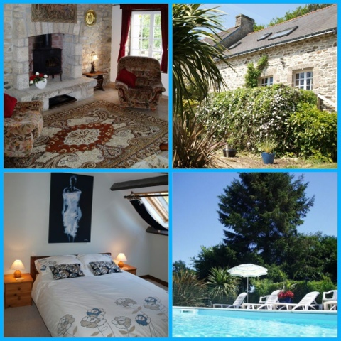 Brittany Holiday Cottages Our Home Brittany Holiday Cottages With Private Swimming Pool
