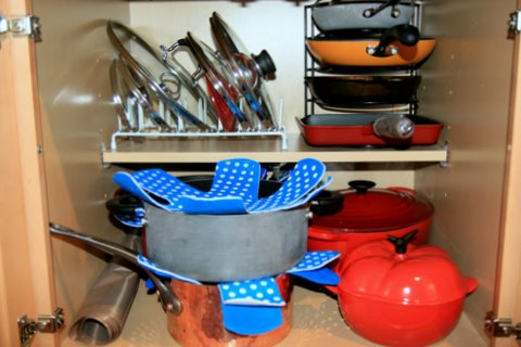 Pot And Pan Organization
