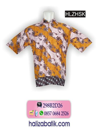HLZHSK Baju Seragam, Model Hem, Baju Batik, HLZHSK