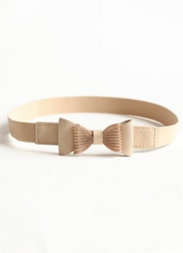 Shimmering Bow Elastic Belt [SOURCE]