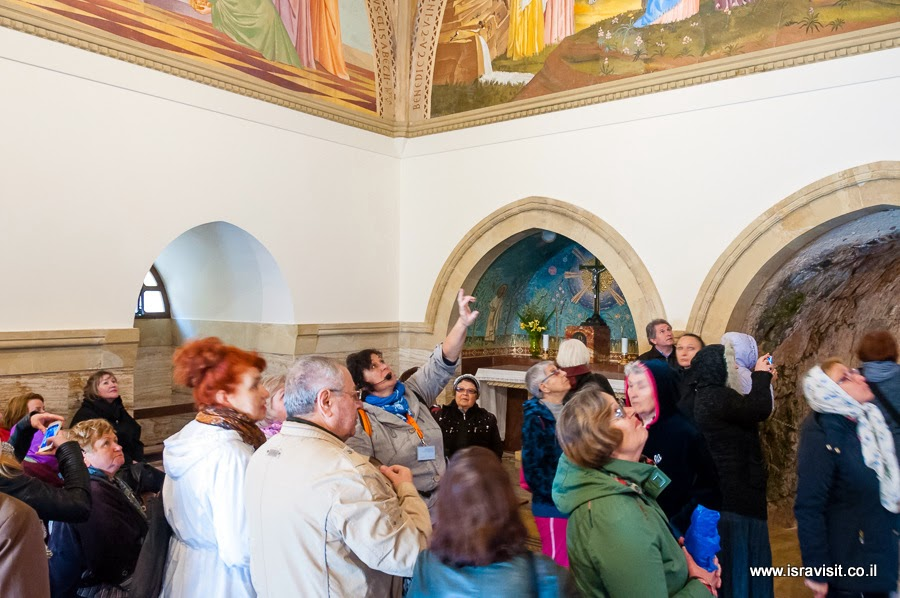 Гид в Иерусалиме Светлана Фиалкова. Экскурсия в церковь Посещения в Иерусалиме в Эйн Карем.