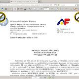 Document al Administraţiei Finanţelor Publice a municipiului Fălticeni creat cu un soft gratuit