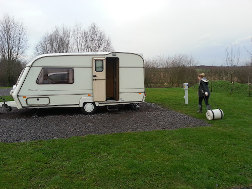 Camping  at Parklands Coarse Fishery and Caravan Park