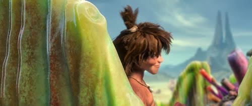 Screen Shot Of Hollywood Movie The Croods (2013) Download And Watch Online Free at Alldownloads4u.Com