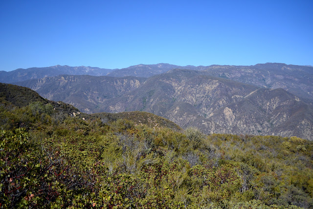 mountains north of Matilija