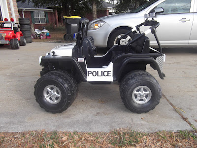 Custom Police Jeep Modifiedpowerwheels Com