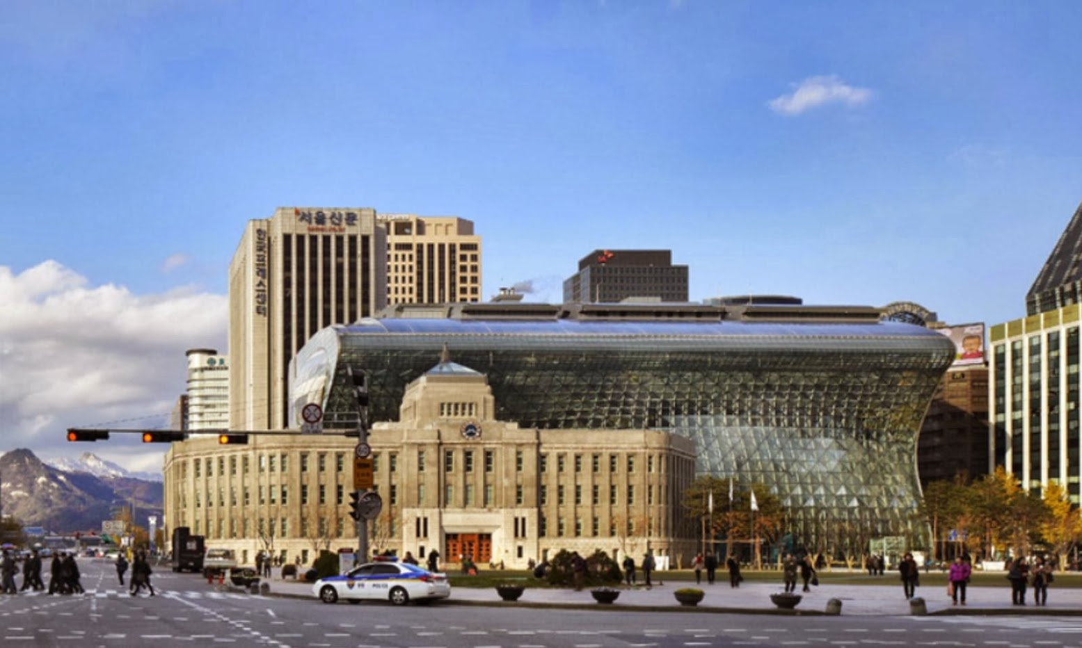 Seul, Corea del Sud: [SEOUL NEW CITY HALL BY IARC ARCHITECTS]