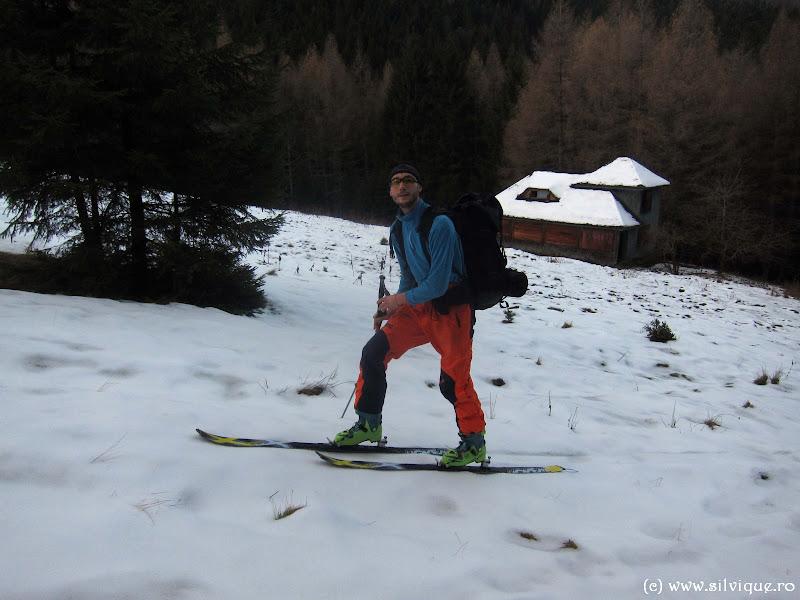 2014.12.06 - Bucegi - Ciubotea, vf Omu, v Gaura pe schiuri